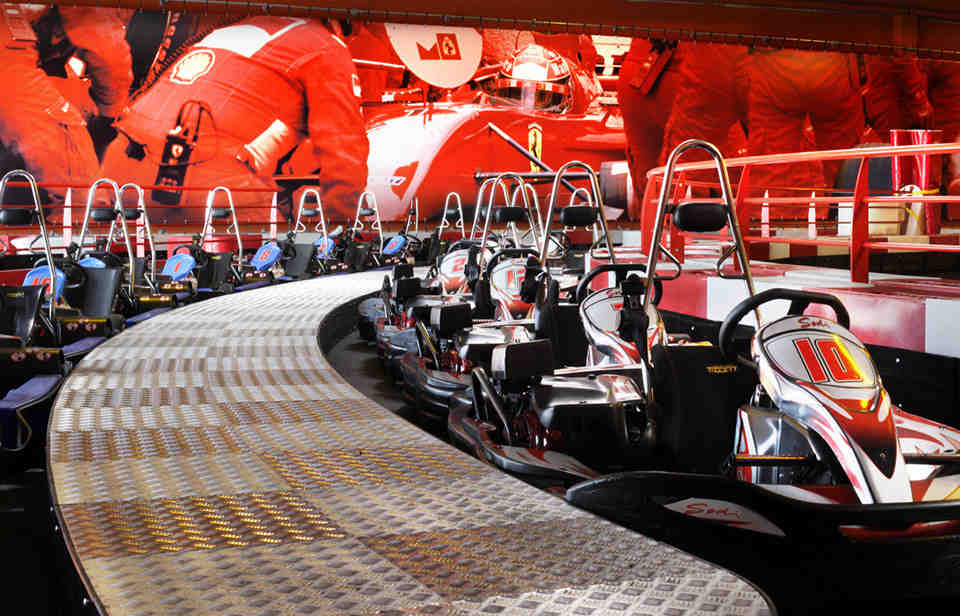 karting, bowling, jeux, le